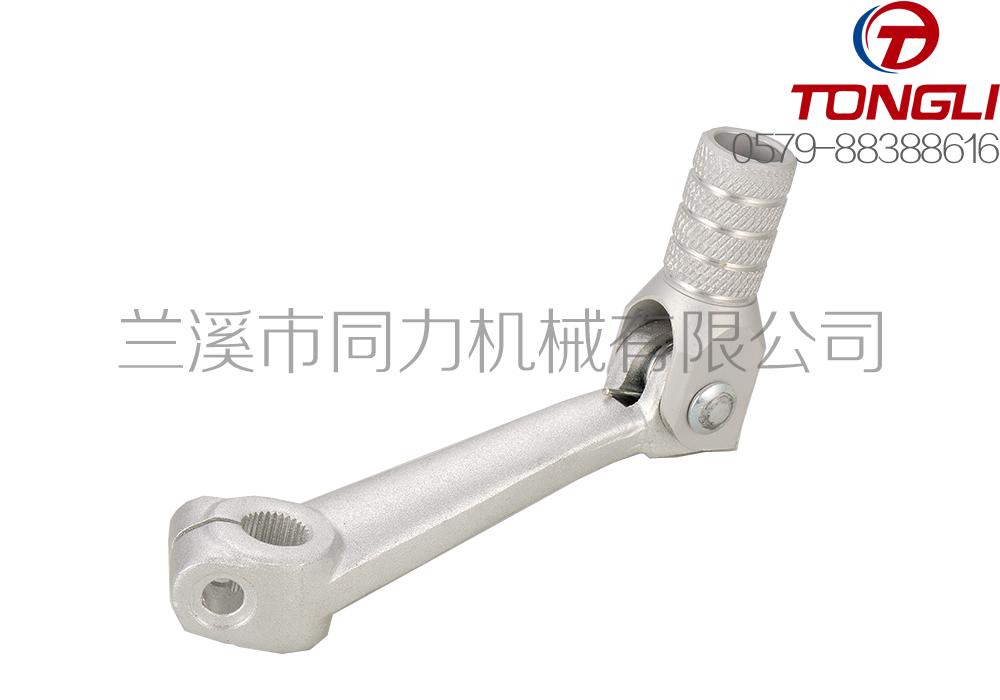 厂家直供摩托车配件-锻造铝合金变档杆-6